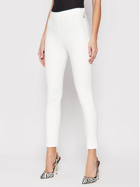 Patrizia Pepe Patrizia Pepe Spodnie materiałowe CPA048/AQ39-W146 Biały Slim Fit