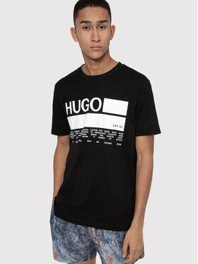 Hugo Hugo Póló Dangri 50438623 Fekete Regular Fit