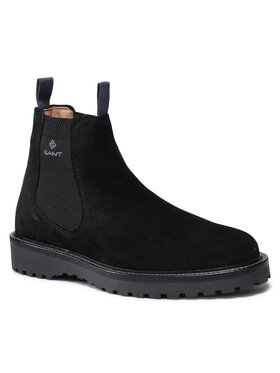 Gant Gant Členková obuv s elastickým prvkom Roden 23653206 Čierna