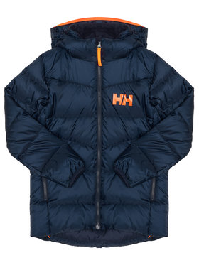 Helly Hansen Helly Hansen Geacă din puf Junior Isf Jord Down Mix 41612 Bleumarin Regular Fit