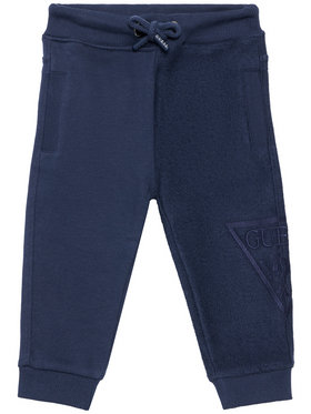 Guess Guess Pantalon jogging N1RQ09 KA6R0 Bleu marine Regular Fit