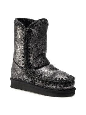 Mou Mou Buty Eskimo Boot 24 Cm FW101000B Srebrny