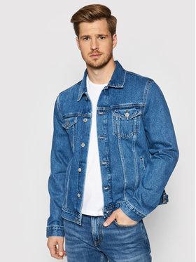 Tommy Hilfiger Tommy Hilfiger Giacca di jeans Trucker MW0MW18350 Blu scuro Regular Fit