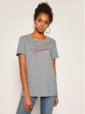 Guess Guess T-shirt Genziana Tee W0YI47 I3Z00 Gris Slim Fit