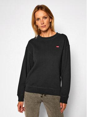 Levi's® Levi's® Bluza Standard Crewneck 24688-0006 Czarny Relaxed Fit