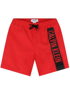 Calvin Klein Swimwear Calvin Klein Swimwear Плувни шорти Medium Drawstring B70B700225 Червен Regular Fit
