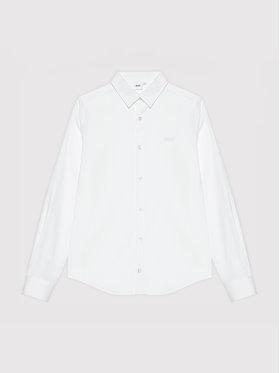 Boss Boss Hemd J25N22 M Weiß Regular Fit