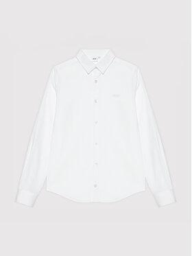 Boss Boss Риза J25N22 M Бял Regular Fit