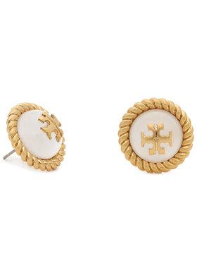 Tory Burch Tory Burch Auskarai Kira Glass Stud Earring 70571 Auksinė