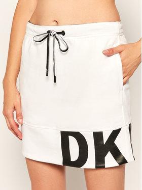 DKNY Sport DKNY Sport Jupe mini DP0S4665 Blanc Regular Fit