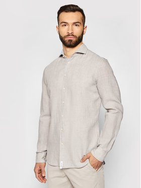 Baldessarini Baldessarini Camicia Henry B3 10000/000/3030 Grigio Tailored Fit