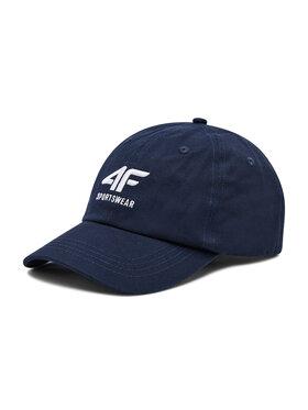 4F 4F Kepurė su snapeliu H4L21-CAM006 Tamsiai mėlyna