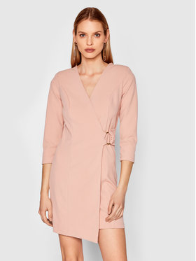Rinascimento Rinascimento Sukienka codzienna CFC0017805002 Różowy Regular Fit