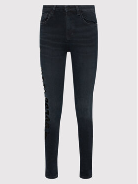 Guess Guess Jean Ultimate W1BA94 D4H32 Bleu marine Skinny Fit