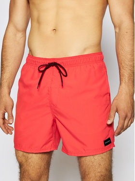 Rip Curl Rip Curl Plavecké šortky Offset 15 Volley CBOLQ4 Červená Regular Fit