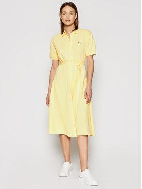 Lacoste Lacoste Kasdieninė suknelė EF5471 Geltona Regular Fit