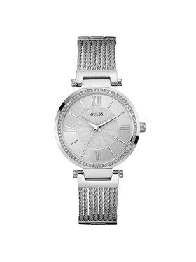 Guess Guess Zegarek Soho W0638L1 Srebrny