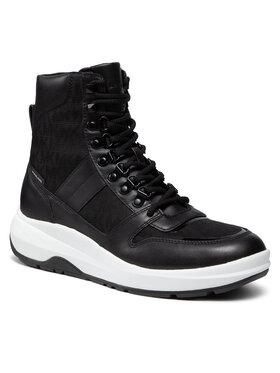 MICHAEL Michael Kors MICHAEL Michael Kors Kozačky Asher Boot 42F1ASFB5Y Černá