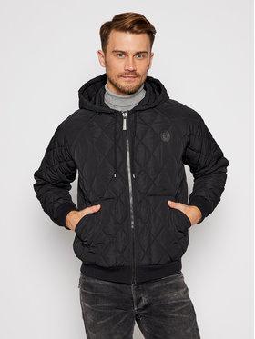 Trussardi Jeans Trussardi Jeans Daunenjacke Hoodie Zip Soft Memory 52S00459 Schwarz Regular Fit