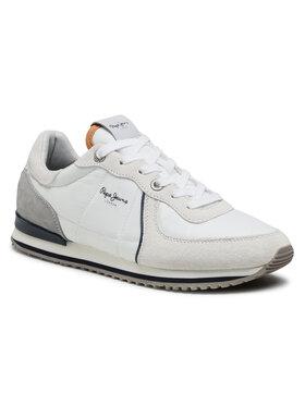 Pepe Jeans Pepe Jeans Sneakersy Tinker City 21 PMS30728 Bílá