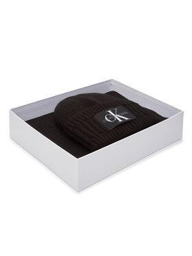 Calvin Klein Jeans Calvin Klein Jeans Set Fular și Căciulă Beanie + Scarf K50K506238 Negru