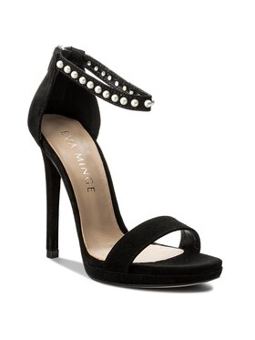 Eva Minge Sandále Burgos 3N 18SF1372315ES Čierna