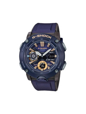 G-Shock G-Shock Ρολόι GA-2000-2AER Σκούρο μπλε
