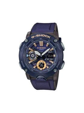 G-Shock G-Shock Zegarek GA-2000-2AER Granatowy