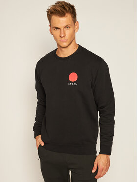 Edwin Edwin Sweatshirt Japanese Sun I028969 TJ7571P 8967 Noir Regular Fit