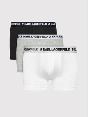 KARL LAGERFELD KARL LAGERFELD Sada 3 kusů boxerek Logo 211M2104 Barevná