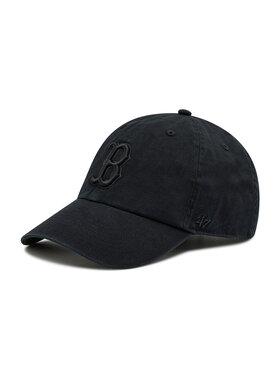47 Brand 47 Brand Шапка с козирка Boston Red Sox B-RGW02GWSNL-BKG Черен