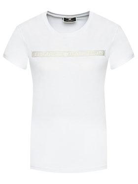 Elisabetta Franchi Elisabetta Franchi T-shirt MA-184-11E2-V140 Bianco Straight Fit
