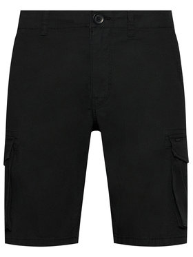 Only & Sons Only & Sons Stoffshorts Mike 22019487 Schwarz Regular Fit
