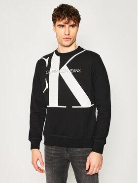 Calvin Klein Jeans Calvin Klein Jeans Μπλούζα Organic Cotton Logo J30J315293 Μαύρο Regular Fit