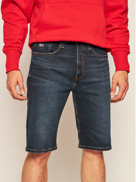 Tommy Jeans Tommy Jeans Jeansshorts Rey DM0DM08043 Dunkelblau Relaxed Fit