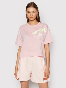 Nike Nike T-Shirt Dri-FIT Graphic DC7189 Różowy Oversize