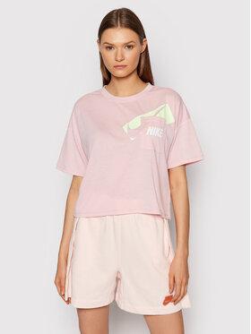 Nike Nike T-Shirt Dri-FIT Graphic DC7189 Růžová Oversize