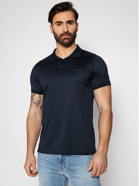 KARL LAGERFELD KARL LAGERFELD Tricou polo Press Button 745000 511200 Bleumarin Regular Fit