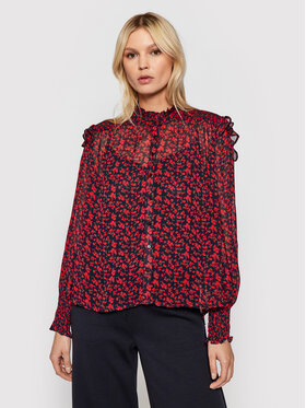 Pepe Jeans Pepe Jeans Bluzka Edith PL304030 Różowy Relaxed Fit