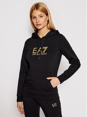 EA7 Emporio Armani EA7 Emporio Armani Majica dugih rukava 8NTM40 TJ31Z 0200 Crna Regular Fit