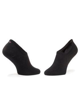 TOMMY HILFIGER TOMMY HILFIGER Sada 2 párů nízkých ponožek unisex 320205001 Černá