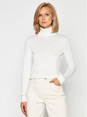 Calvin Klein Calvin Klein Golf Ls Roll Neck K20K202244 Beżowy Regular Fit