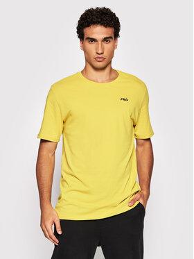 Fila Fila T-Shirt Edgar 689111 Zelená Regular Fit