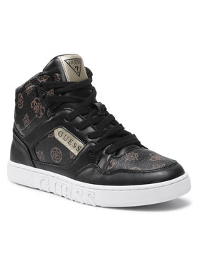 Guess Guess Sneakersy Justis2 FL5JS2 FAL12 Czarny