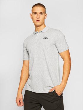 Kappa Kappa Тениска с яка и копчета Peleot 303173 Сив Regular Fit