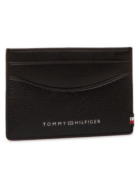 Tommy Hilfiger Tommy Hilfiger Kreditinių kortelių dėklas Business Mini Cc Holder AM0AM06510 Juoda