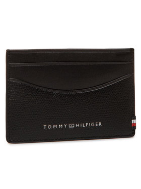 Tommy Hilfiger Tommy Hilfiger Kreditkartenetui Business Mini Cc Holder AM0AM06510 Schwarz