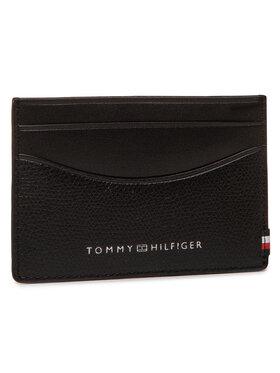 Tommy Hilfiger Tommy Hilfiger Θήκη πιστωτικών καρτών Business Mini Cc Holder AM0AM06510 Μαύρο