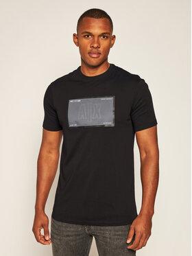 Armani Exchange Armani Exchange T-Shirt 6HZTFU ZJH4Z 1200 Černá Regular Fit