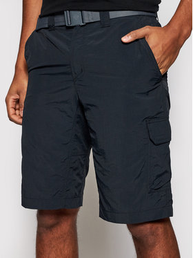 Columbia Columbia Pantaloncini sportivi Silver Ridge II 1794921 Nero Regular Fit